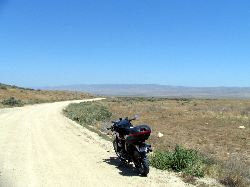 Scrambler on Soda Lake Rd