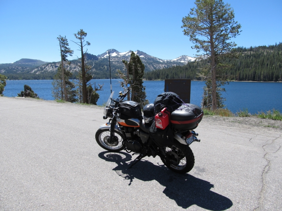 Buffy at Caples Lake