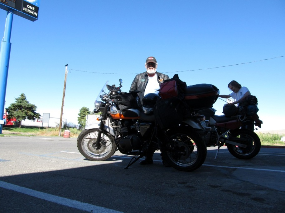 Ready to head out of Winnemucca, ridin' to Provo