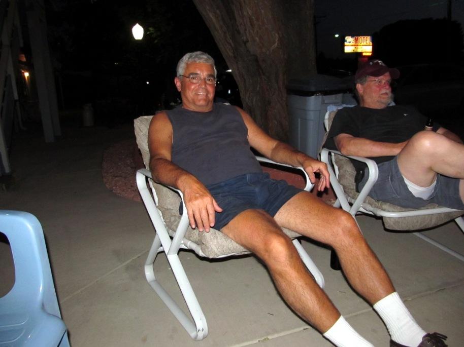 Ed relaxing